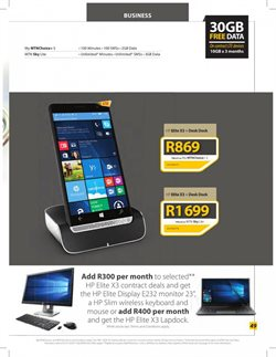 Keyboard offers in the MTN catalogue in Cape Town