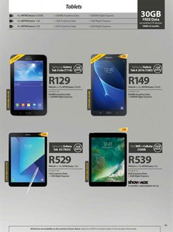 Apple products offers in the MTN catalogue in Cape Town