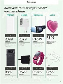 Chargers offers in the MTN catalogue in Cape Town