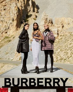 Luxury brands offers in the Burberry catalogue ( 12 days left)