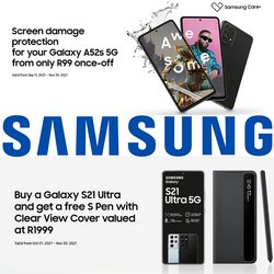 Samsung offers in the Samsung catalogue ( More than a month)