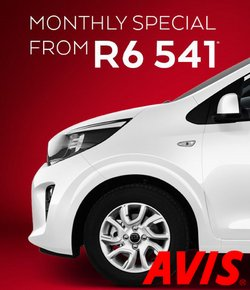 Cars, Motorcycles & Spares offers in the Avis catalogue ( 5 days left)