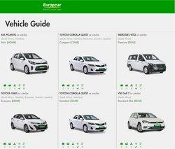 Europcar catalogue ( 7 days left )