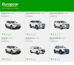 Renault offers in the Europcar catalogue ( 5 days left)