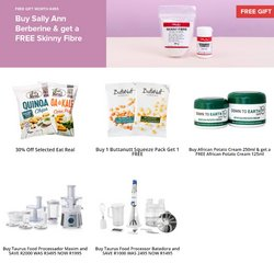 Food processor specials in Faithful to Nature