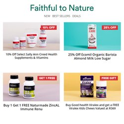 Faithful to Nature offers in the Faithful to Nature catalogue ( 6 days left)
