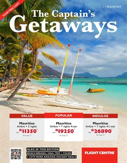 Travel offers in the Flight Centre catalogue in Cape Town