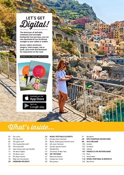 European tours offers in the Sta Travel catalogue in Cape Town