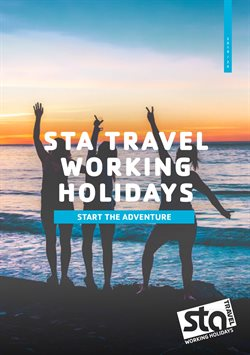 Travel offers in the Sta Travel catalogue in Soweto ( More than a month )