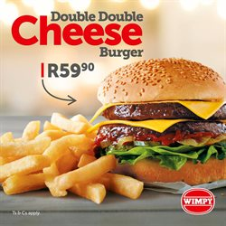Wimpy deals in the Johannesburg special