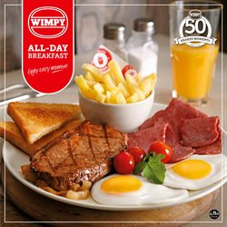 Restaurants offers in the Wimpy catalogue in Randburg