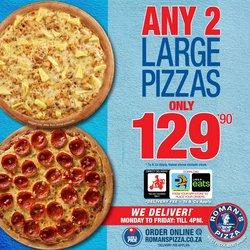 Roman's Pizza catalogue in Port Elizabeth ( Expired )