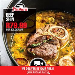 Restaurants offers in the Biltong catalogue in Soweto ( Published today )