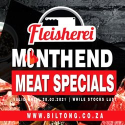 Restaurants offers in the Biltong catalogue in Johannesburg ( Expires today )