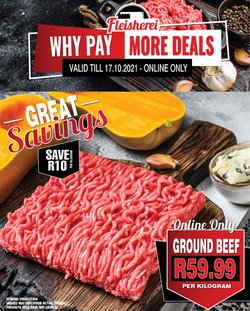 Restaurants offers in the Biltong catalogue ( Expires today)
