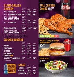 Restaurants offers in the Steers catalogue in Oudtshoorn