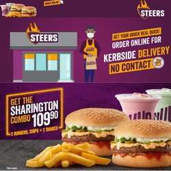 Restaurants offers in the Steers catalogue ( 5 days left)