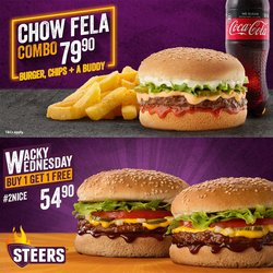 Restaurants offers in the Steers catalogue ( Expires today)