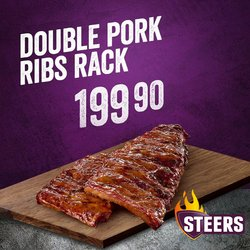 Restaurants offers in the Steers catalogue ( 2 days left)