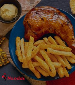 Nandos deals in the Johannesburg special