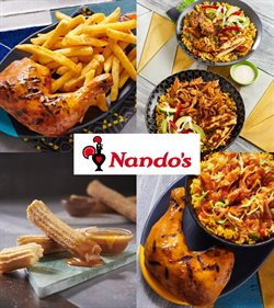 Restaurants offers in the Nandos catalogue ( More than a month )