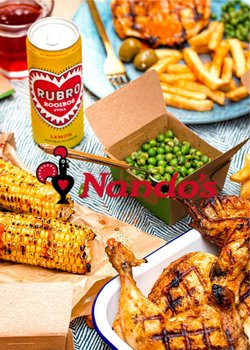 Nandos catalogue ( More than a month )