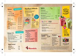 Restaurants offers in the Nandos catalogue in Cape Town