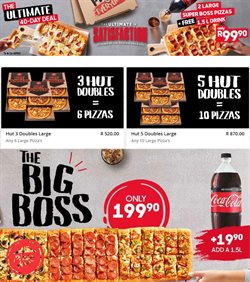 Restaurants offers in the Pizza Hut catalogue in Johannesburg ( More than a month )