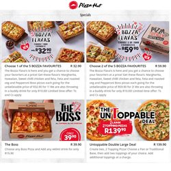 Restaurants offers in the Pizza Hut catalogue in Pretoria ( 25 days left )