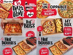 Restaurants offers in the Pizza Hut catalogue in Johannesburg ( Expires today )