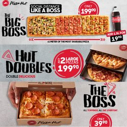 Restaurants offers in the Pizza Hut catalogue ( 24 days left)