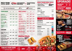 Restaurants offers in the Pizza Hut catalogue in Randburg