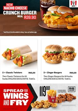 KFC deals in the Johannesburg special