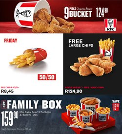 Restaurants offers in the KFC catalogue ( 5 days left)