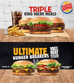 Burger King deals in the Cape Town special