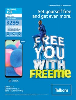 Telkom deals in the Pretoria special