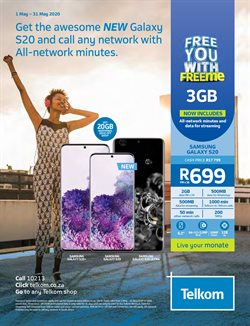 Telkom catalogue in Cape Town ( Expired )