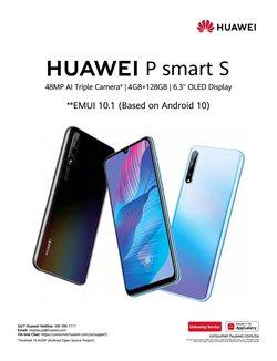 Huawei smartphones specials in Telkom