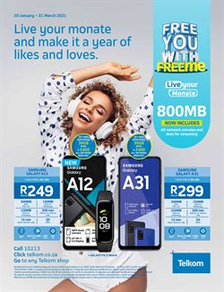 Telkom catalogue in Cape Town ( More than a month )