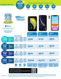 IPhone XR specials in Telkom