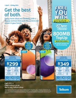 Telkom catalogue ( More than a month )