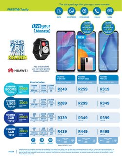 Electronics & Home Appliances offers in the Telkom catalogue ( 26 days left )