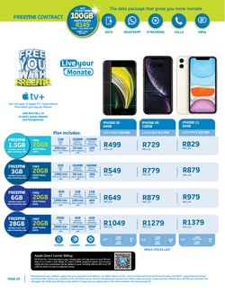 IPhone X specials in Telkom