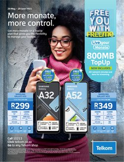 Electronics & Home Appliances offers in the Telkom catalogue ( 6 days left)