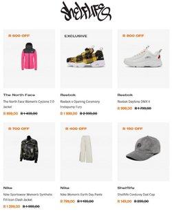 The North Face offers in the Shelflife catalogue ( 21 days left)
