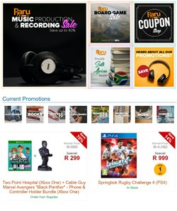 Books & Stationery offers in the Raru catalogue in Johannesburg ( 10 days left )