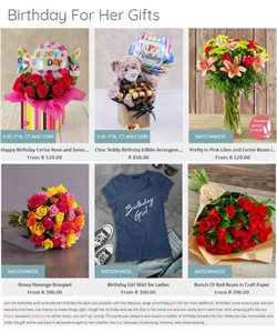 My Little Pony offers in the Netflorist catalogue in Cape Town