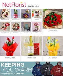 Netflorist deals in the Bellville special