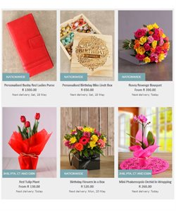 Notebook offers in the Netflorist catalogue in Cape Town