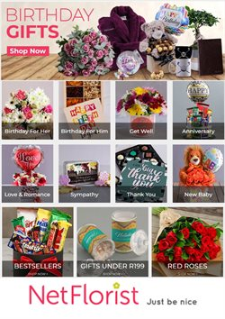 Netflorist catalogue ( More than a month )